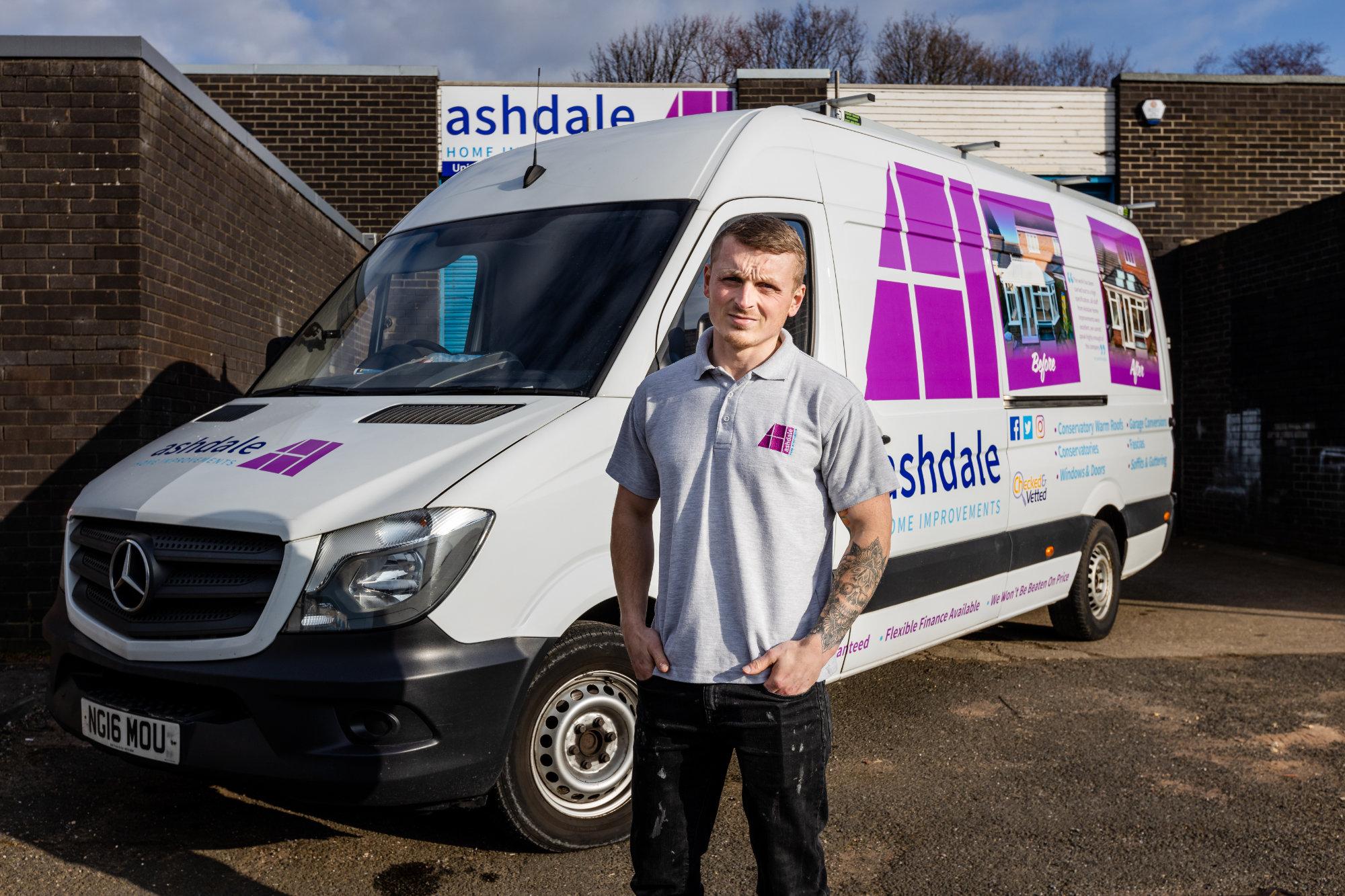 Ashdale Home Improvements van
